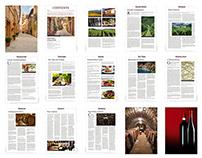 Magazine Layout: Food & Wine