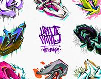 ALPHABET graffitisketches