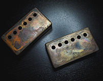 RKT SGT guitar pickup covers