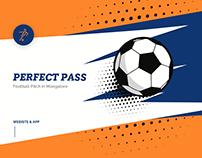 Perfect Pass - Football Ground Booking App & Website