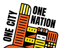 One city One nation Undivided