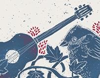 Afiche Ciclo de Folclor y Música de Raiz