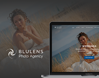 Blulens Photo Agency Website