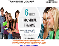 Live Project Training In Udaipur | Summer Training In U