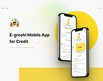 E-groshi Mobile App