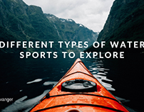 Different Types of Water Sports to Explore