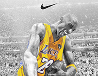 "Kobe Bryant ""No Excuses"" Art"