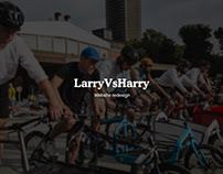 LarryVsHarry - Website redesign