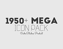 1950+ MEGA ICON pack - (CreativeMarket)