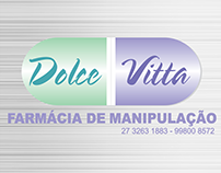 Identidade Visual Dolce Vitta Farmácia de Manipulação
