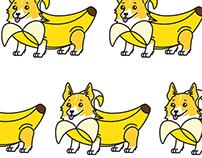Banana Corgi