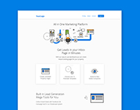 Free PSD : Modern Landing Page Template