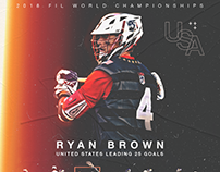 Ryan Brown - 2018 FIL Worlds Leading Scorer