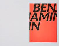 New Fontsmith typeface FS Benjamin