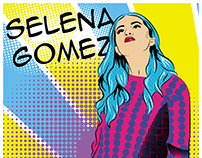 Poster SELENA GOMEZ/POP ART