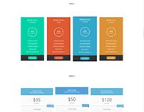 Price Box Element - Resume WordPress Theme