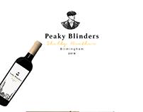 Peaky Blinders wine