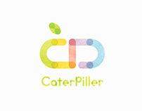 CaterPiller | Health care brand | Branding