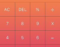 Daily UI - #004 Calculator