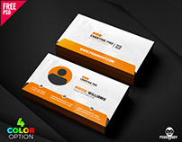 Creative Business Card PSD Set