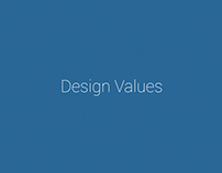 Design Values Animation