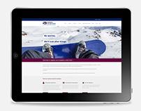 Snyman & van der Vyver website redesign