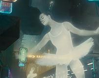 Publicidade no cyberpunk flerta com o mundo real