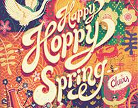 HOPPY SPRING - calendar
