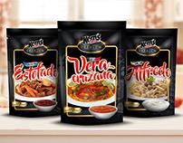 Packaging Línea Salsas Premium.