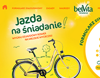 Website for belVita - consument promo