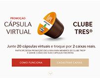 Promoção Cápsula Virtual Clube TRES