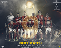 CD-NM-AL AHLY & WYDAD - CAF CHAMPIONS LEAGUE