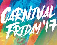 Carnival Friday 2017 Flyer and Instagram images