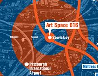 Art Space 616 - Branding