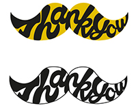 Movember Thank You Logo Pitch