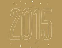 Carte de vœux 2015 / N+CO