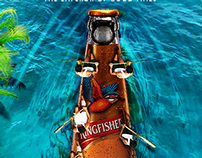 Kingfisher ultra poster