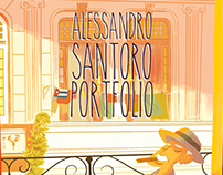 Alessandro Santoro Illustrator/Cartoonist Portfolio