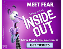 Inside Out Character Banners - Fear