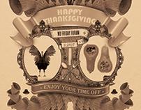 Thanksgiving Forum Poster