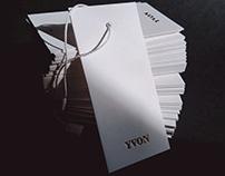 Премиум маркировка для компании YVON.