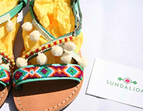 Sundalion Shoes Branding
