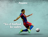 Graphic edits x Revista Panenka