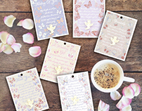 Willow Greetings / Angel Pin Card Range.