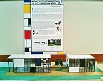 Maquete - Casa Eames