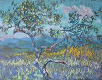 landscapes pastel