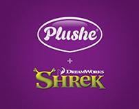 Paper products Plushe & Shrek. Бумажная продукция
