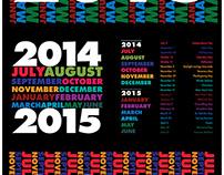Calendar in Futura