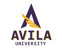 Avila University athletic logo  standards manual