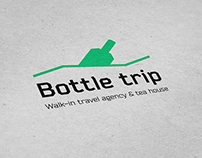 Identity for travel agency Bottle trip, Indonesia